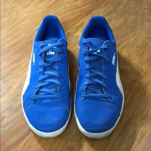 Men's blue Puma shoes, 11